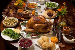 lighten up Thanksgiving dinner