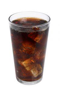 drinking soda in a healthy diet